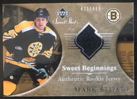 2006-07 Upper Deck Sweet Shot #106 Mark Stuart RC Rookie 411/499 06762