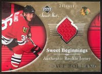 2006-07 Upper Deck Sweet Shot #115 Dave Bolland RC Rookie 247/499 06771