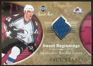 2006-07 Upper Deck Sweet Shot #117 Paul Stastny RC Rookie 278/499 06773