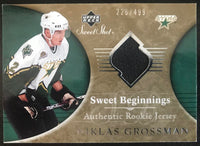 2006-07 Upper Deck Sweet Shot #119 Nicklas Grossman RC Rookie 226/499 06775