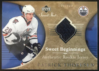 2006-07 Upper Deck Sweet Shot #123 Patrick Thoresen RC Rookie 189/499 06779