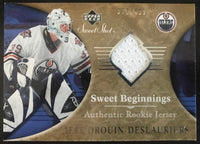 2006-07 Upper Deck Sweet Shot #127 Jeff Drouin-Deslauriers RC 372/499 06783