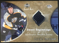 2006-07 Upper Deck Sweet Shot #135 Shea Weber RC Rookie 471/499 06791