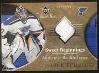 2006-07 Upper Deck Sweet Shot #152 Marek Schwarz RC Rookie 82/499 06808