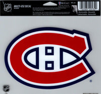 Montreal Canadiens Multi-Use Decal Sticker 5