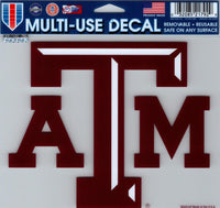 Texas A&M University Multi-Use Decal Sticker 5