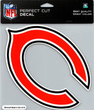 "Chicago Bears Perfect Cut 8""x8"" Large Licensed NFL Decal Sticker"