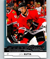 2017-18 Upper Deck #452 Jan Rutta Young Guns Blackhawks YG RC 06875