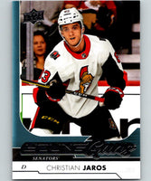 2017-18 Upper Deck #462 Christian Jaros Young Guns Senators YG RC 06878