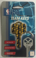 Indiana Pacers NBA Basketball Licensed Metal Team Key Blank KW1