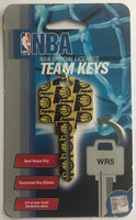 Indiana Pacers NBA Basketball Licensed Metal Team Key Blank WR5