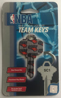 Charlotte Bobcats NBA Basketball Licensed Metal Team Key Blank SC1