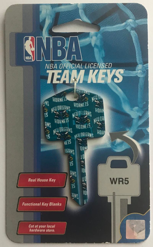 Charlotte Hornets NBA Basketball Licensed Metal Team Key Blank WR5