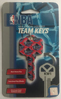 Detroit Pistons NBA Basketball Licensed Metal Team Key Blank KW1