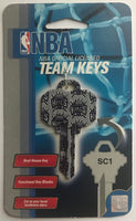 Sacramento Kings NBA Basketball Licensed Metal Team Key Blank SC1