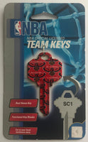 Atlanta Hawks NBA Basketball Licensed Metal Team Key Blank SC1