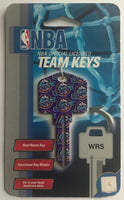 Utah Jazz NBA Basketball Licensed Metal Team Key Blank WR5
