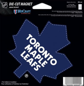 "Toronto Maple Leafs Old Logo NHL Die Cut Magnet 5"" x 5"" - Indoor or Outdoor"