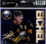 "Jack Eichel Multi-Use Decal Sticker 5""x6"" NHL Clear Back Sabres"