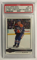2015-16 Upper Deck O-Pee-Chee Glossy Rookies RC Connor McDavid PSA 10
