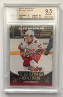 2010-11 Upper Deck JEFF SKINNER BGS 9.5 Young Guns YG RC RC Rookie -185