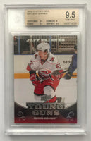 2010-11 Upper Deck JEFF SKINNER BGS 9.5 Young Guns YG RC RC Rookie -050