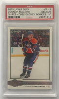 2015-16 Upper Deck O-Pee-Chee Glossy Connor McDavid PSA 10 RC Rookie -1814