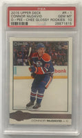 2015-16 Upper Deck O-Pee-Chee Glossy Connor McDavid PSA 10 RC Rookie -1815