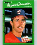 1990 Donruss Rookies #17 Wayne Edwards New RC Rookie Chicago White Sox
