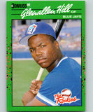 1990 Donruss Rookies #24 Glenallen Hill New Toronto Blue Jays