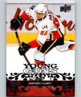 2008-09 Upper Deck #203 Adam Pardy NHL RC Rookie Flames YG Young Guns 06933