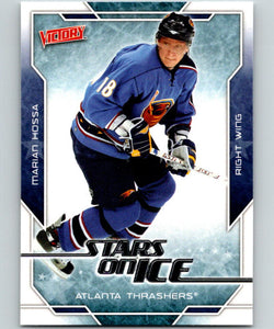 2007-08 Upper Deck Victory Stars on Ice #SI27 Marian Hossa MINT 05261