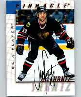 1997-98 Be A Player Autographs #173 Jeff Shantz MINT Auto Chicago Blackhawks 05268