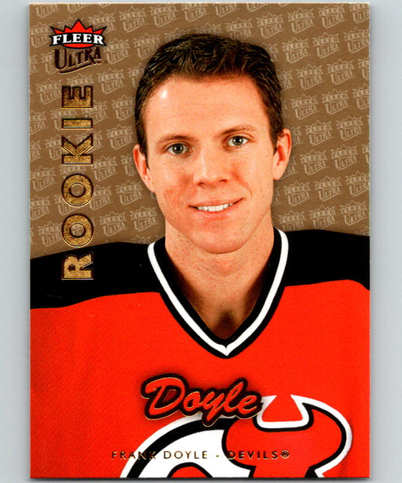 2006-07 Fleer Ultra Gold Medallion #212 Frank Doyle RC Rookie New Jersey Devils 05269