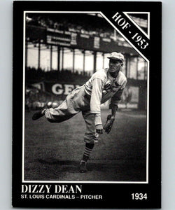 1991 Conlon Collection #3 Dizzy Dean HOF NM St. Louis Cardinals