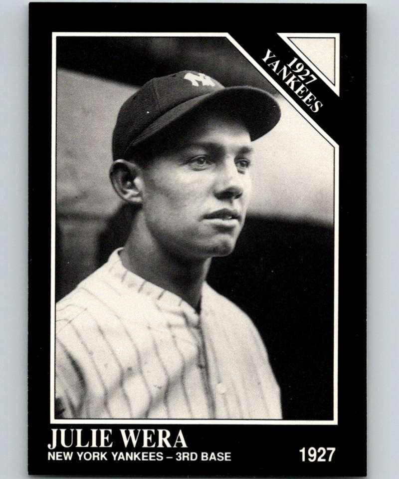 1991 Conlon Collection #100 Julie Wera NM New York Yankees