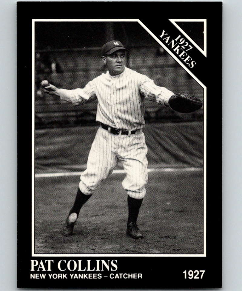 1991 Conlon Collection #118 Pat Collins NM New York Yankees