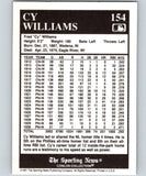 1991 Conlon Collection #154 Cy Williams LL NM Chicago Cubs