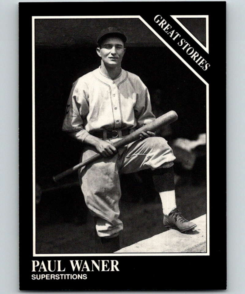 1991 Conlon Collection #167 Paul Waner ST NM Pittsburgh Pirates