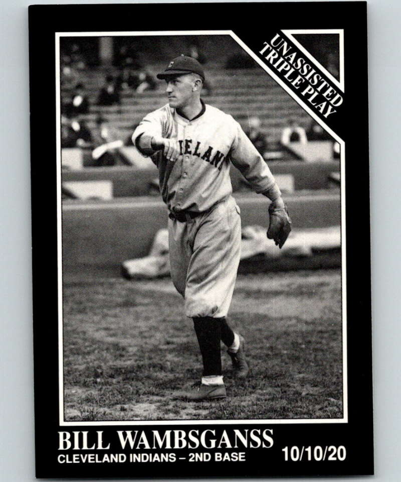 1991 Conlon Collection #200 Bill Wambsganss TP NM Cleveland Indians