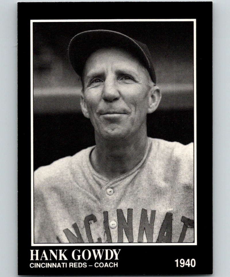 1991 Conlon Collection #209 Hank Gowdy NM Cincinnati Reds