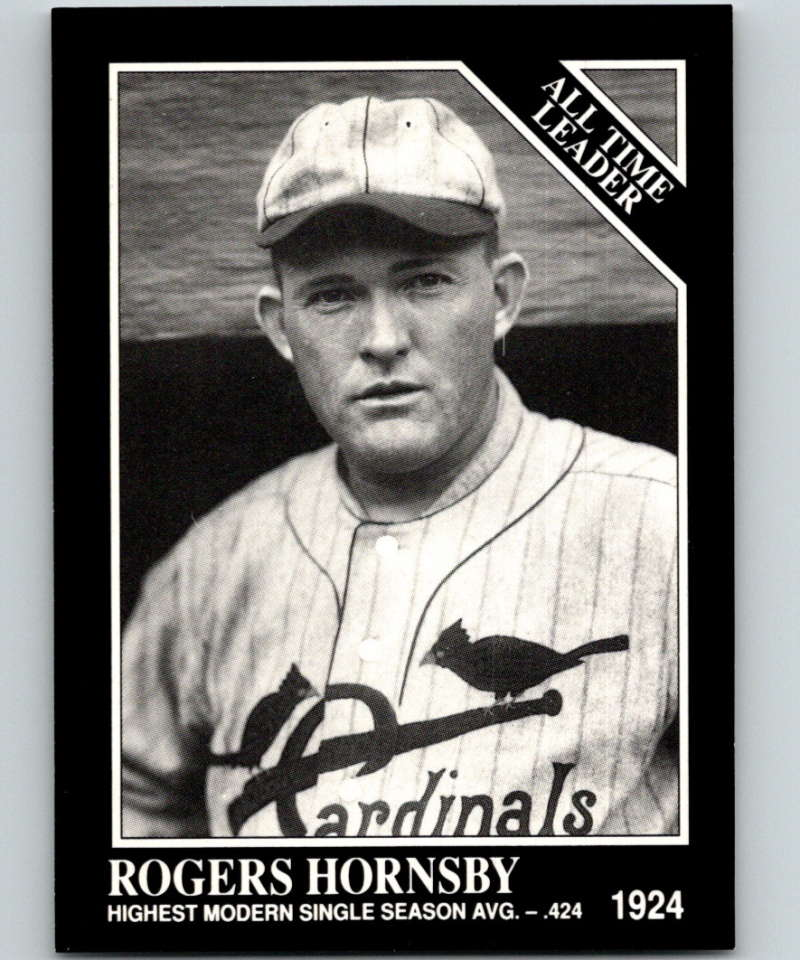 1991 Conlon Collection #251 Rogers Hornsby ATL NM St. Louis Cardinals