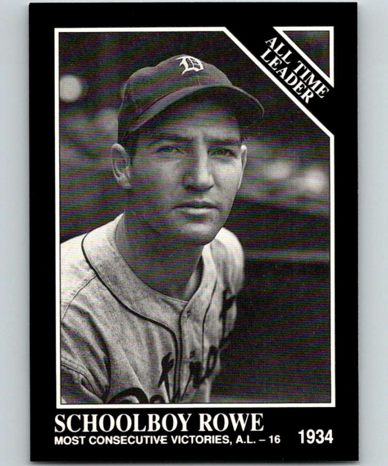 1991 Conlon Collection #256 Schoolboy Rowe ATL NM Detroit Tigers