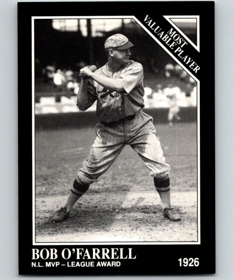1991 Conlon Collection #316 Bob O'Farrell MVP NM St. Louis Cardinals