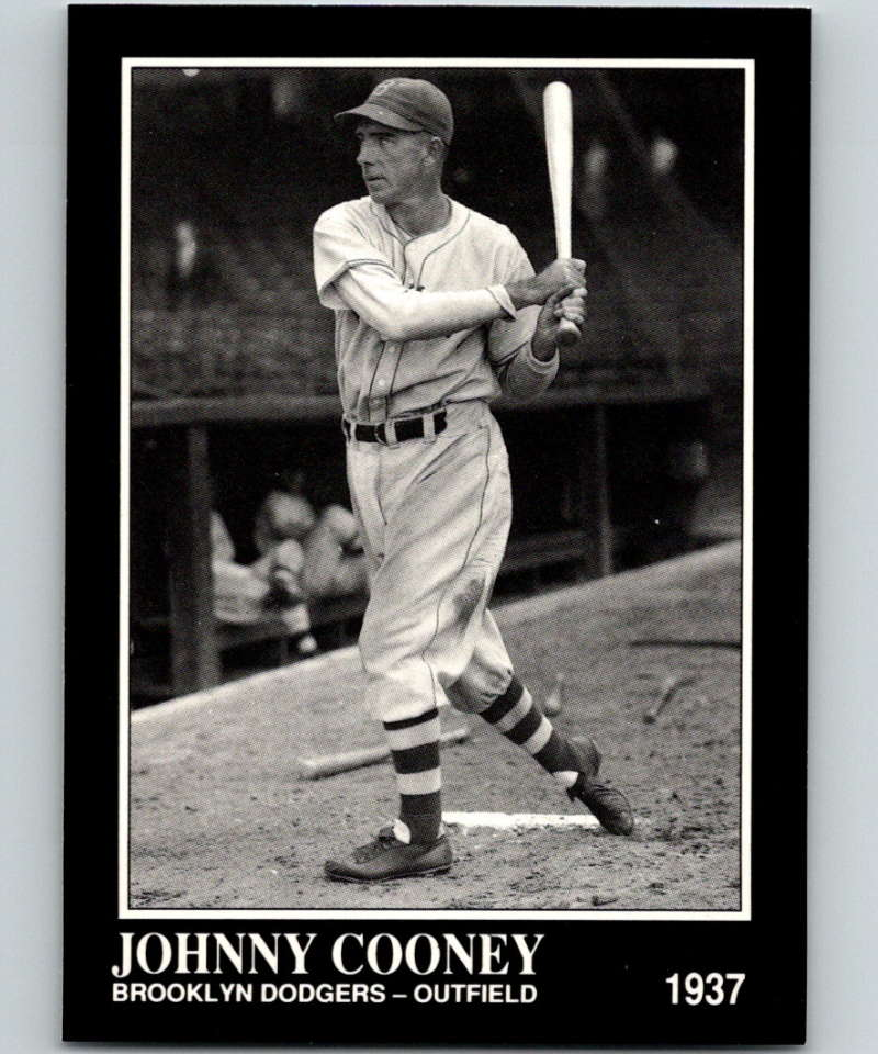 1991 Conlon Collection #94 Johnny Cooney NM Brooklyn Dodgers