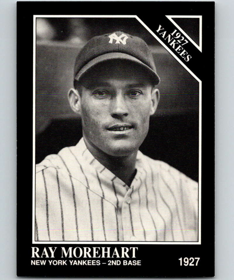 1991 Conlon Collection #102 Ray Morehart NM New York Yankees