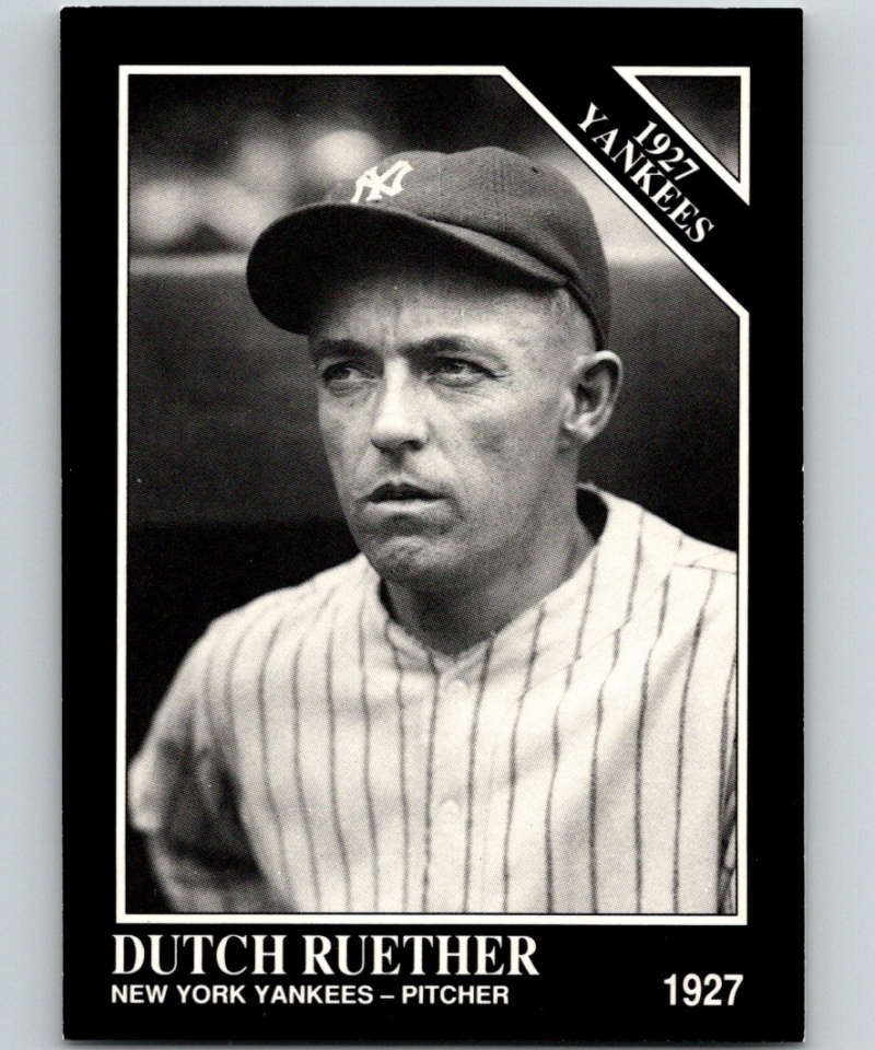 1991 Conlon Collection #104 Dutch Ruether NM New York Yankees