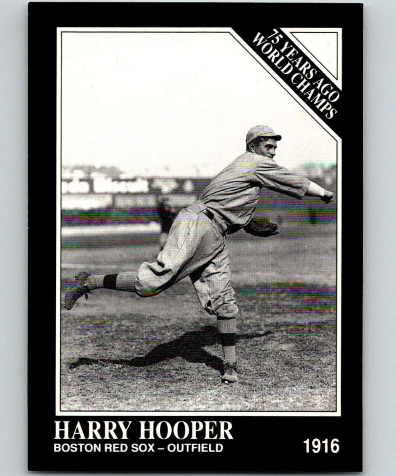 1991 Conlon Collection #135 Harry Hooper NM Boston Red Sox