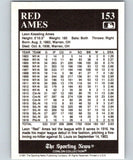 1991 Conlon Collection #153 Red Ames LL NM St. Louis Cardinals