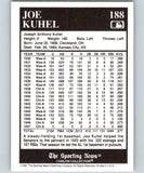 1991 Conlon Collection #188 Joe Kuhel NM Chicago White Sox